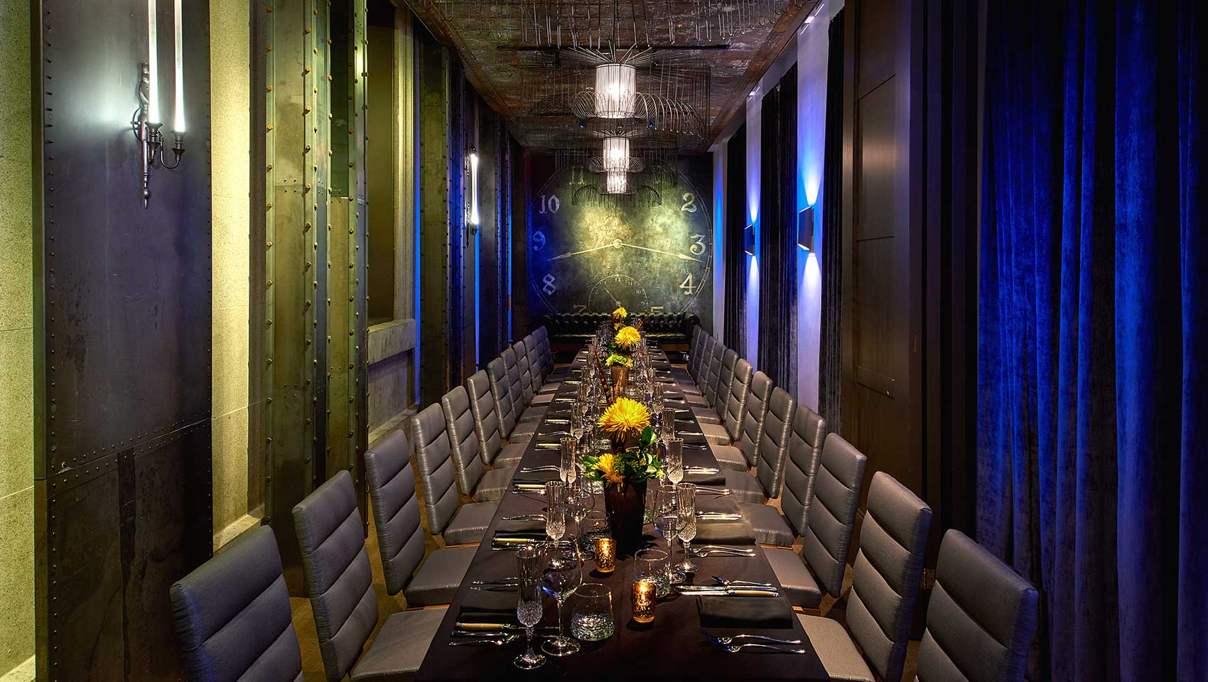 Dirty Habit private dining space