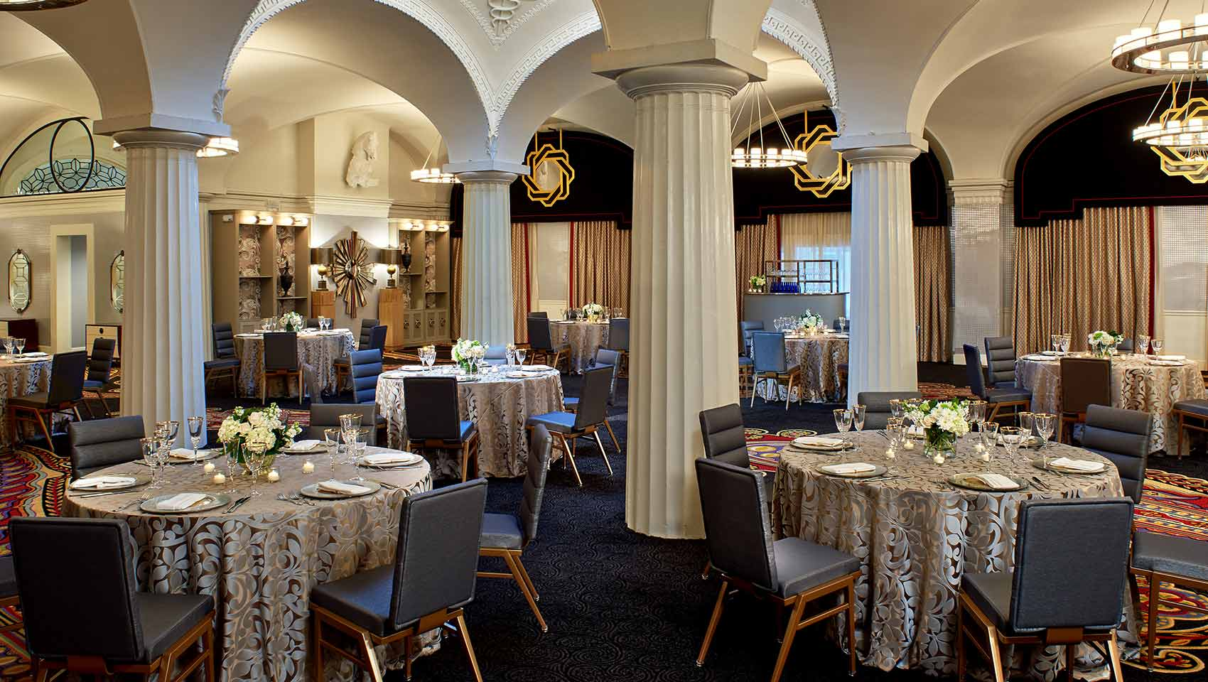 Paris Ballroom At Kimpton Hotel Monaco Washington Dc