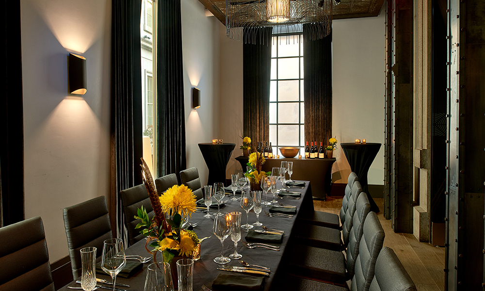 Clock private dining room
