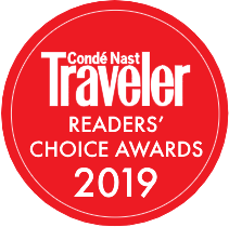 Vote Now - Conde Nast Traveler Reader's Choice Award 2019